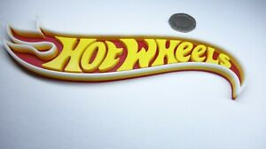 HOT WHEELS self standing logo display