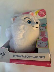 New The Secret Life of Pets 2 Meow Meow Gidget*White Pomeranian *Walks/Talks*Cat