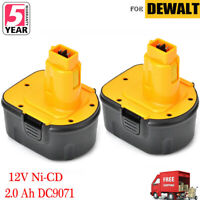 2 x 12V 12 VOLT XRP BATTERY FOR DEWALT DC9071 DW9071 DW9072 DE9072 DE9074 Drill