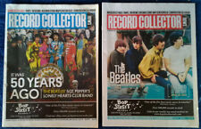 BEATLES - COVER STORIES - RECORD COLLECTOR NEWS - (2) MAGAZINE LOT