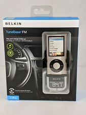 Belkin TuneBase FM For IPod Transmitter and Charger Free Shipping