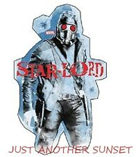 Guardians of the Galaxy Star Lord Red Eyes Marvel Sticker Decal NEW
