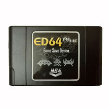 Cartucho ED 64 PLUS N64  version region libre  sd 8gb