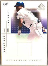 01 Upper Deck UD SP Game Used Tony Gwynn MLB JERSEY 2001 SAN DIEGO PADRES