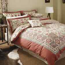 V & A Luxury Kalamkari Duvet Cover Set King Size Pillowcases 180TC Cotton   B24