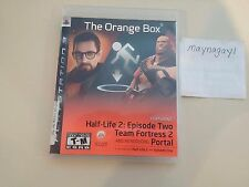The Orange Box [PlayStation 3/PS3] COMPLETE Half life 2 Team Fortress 2 Portal