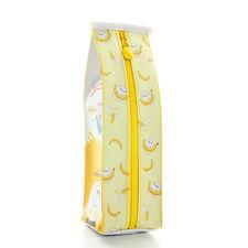 Korean Creative Fashion Milk Food Fruit Pencil Case Stationery Pouch Pen Bag New