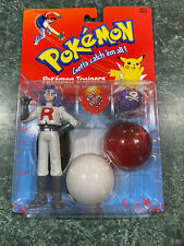 Vintage 1999 Hasbro Pokemon Trainers Figure #109 James & Koffing **BRAND NEW**