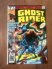 Ghost Rider #36 In Denver Dwells a Demon! Marvel Comic Book ~ Nm-