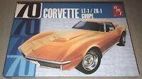 AMT 1970 Chevy Corvette Coupe LT-1 ZR-1 1:25 scale car model kit new 1097
