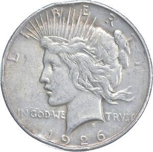 Early - 1926-D Peace Silver Dollar - 90% US Coin *147
