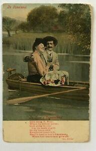 POSTCARD , IN LOVELAND,IN LOVES DREAMLAND, 1909 ,     CC88