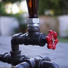 Steampunk Lamp - Beer Bottle Lamp - Industrial Lighting- New-110V