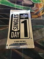 2019-2020 Upper Deck Singles Day 1 Hockey Factory Sealed Booster |1 Pack | Rare