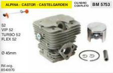 8540970 CILINDRO E PISTONE DECESPUGLIATORE ALPINA CASTOR CASTELGARDEN 52 Ø 45 mm