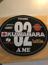 Old School OVAL BMX Number plate by OGK JAPAN - Kuwahara BMX