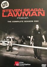 STEVEN SEAGAL LAWMAN THE COMPLETE SEASON ONE (1) - 3 DVD BOX SET-NEW AND SEALED