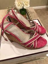 Coach wedge sandals, size 6