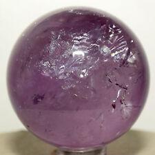 44mm Purple Amethyst Sphere Rainbow Polished Crystal Quartz Mineral Stone China