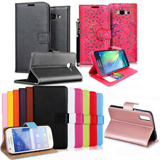 Leather Wallet Book Cover Pouch Case Card Slots Stand For Google Pixel & OnePlus