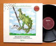 Hyperion A66054 L'Apres-Midi D'un Dinosaur Music For Bassoon & Piano NEAR MINT