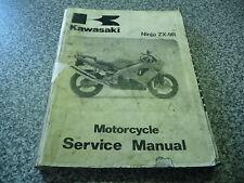 Moto KAWASAKI ZX9R NINJA manuel service 99924-1225-01