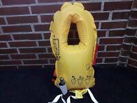 Original Schwimmweste + Sauerstoffmaske aus Flugzeug Boeing Airbus Set