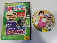HEIDI EN LA MONTAÑA SERIE TV LA PELICULA - DVD CASTELLANO REGION 2