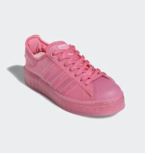 Adidas Original Superstar Jelly Shoes Solar Pink FX4322 Women's Size 7.5
