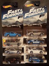 8 HOT WHEELS THE FAST AND THE FURIOUS LOT SET OF 8 2017 SAVE 5% NISSAN SKYLINE