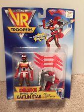 VR Troopers Saban Deluxe Hyper-tech Kaitlin Star 1995 Action Figure
