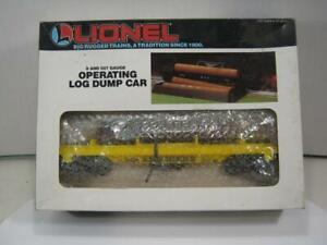 Lionel Alaska Road Log Dump Car 6-16621 Mint!
