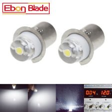2Pcs P13.5S LED Bulb For Maglite Torch lamp upgrade Flashlight 0.5W 3V-18V White