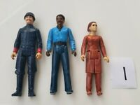 Vintage Star Wars Bespin Figure Lot Lando, Guard and Leia ESB 1980 Kenner