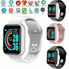 USA Impermeable Bluetooth Reloj inteligente teléfono Mate para Android Samsung iPhone IOS