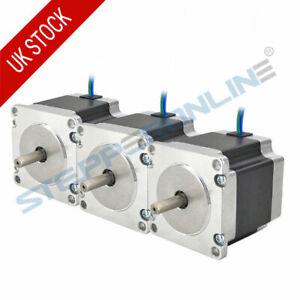 3PCS Nema 23 Stepper Motor 1.26Nm 2.8A 57x56mm 6.35mm Shaft 4-wire 3D Printer