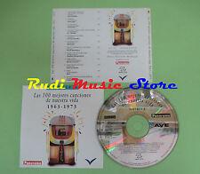 CD 100 CANCIONES NUESTRA VIDA 1963-1973 VOL 8 compilation PROMO 1993 (C28)