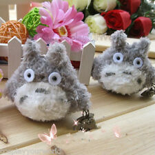 "Kawaii Studio Ghibli My Neighbor Totoro Plush Toy Figure Soft Doll 3"" Key Chain"
