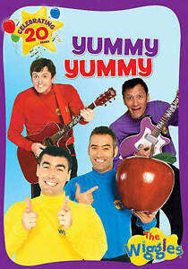 Wiggles The Yummy Yummy (DVD) NEW Factory Sealed, Free Shipping