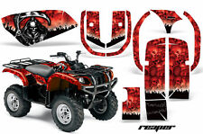 ATV Graphics Kit Quad Decal Wrap For Yamaha Grizzly YFM 660 2002-2008 REAPER RED
