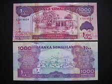 SOMALILAND  1000 Shillings 2011  (P20)  UNC