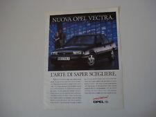 advertising Pubblicità 1992 OPEL VECTRA CD