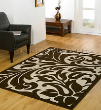Flair Rugs Element Warwick Damask Rug Beige/brown 160 X 220 Cm