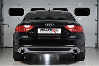 Milltek Cat Back Exhaust System Dual Outlet - Audi A5 3.0 TDi Sportback Quattro