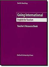 Going International : English for Tourism by Harding, Keith