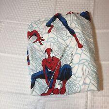 """Spiderman Twin Flat Sheet Franco 63"""" x 94"""""""
