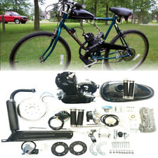 2-Takt 80CC Motorisierte Gas Moteur Fahrrad Benzin Hilfsmotor Engine Kit DE NEU