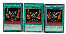 3 x Schwarzer-Glanz-Ritual YGLD-DEA36, Common, Mint