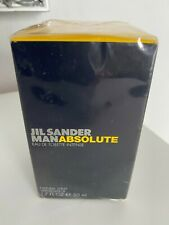 Jil Sander Man Absolute Eau de Toilette Intense 50ml NEU Rarität OVP in Folie