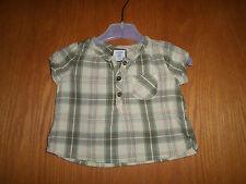 L.O.G.G. by H&M - Niedliche Bluse in Gr.: 62 - Khaki/Gelb/Rosa